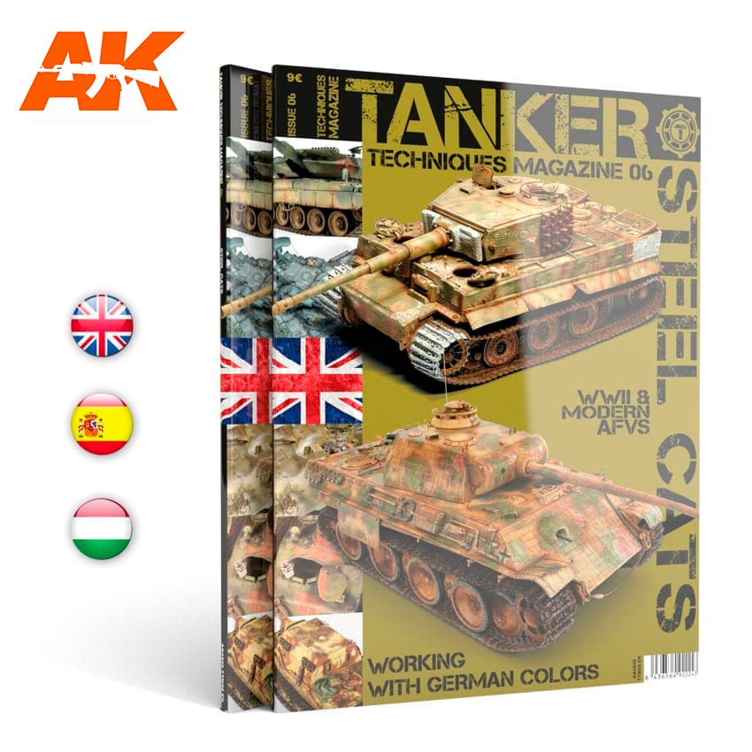AK Interactive TANKER 06 STEAL CATS - English