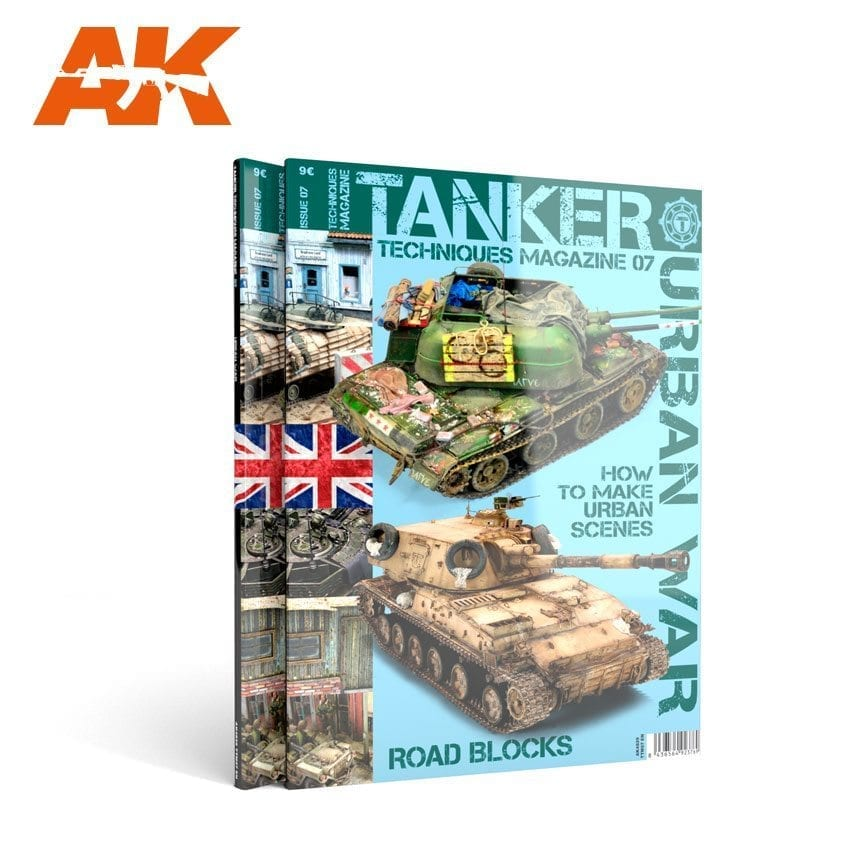 AK Interactive TANKER 07 URBAN WAR - English