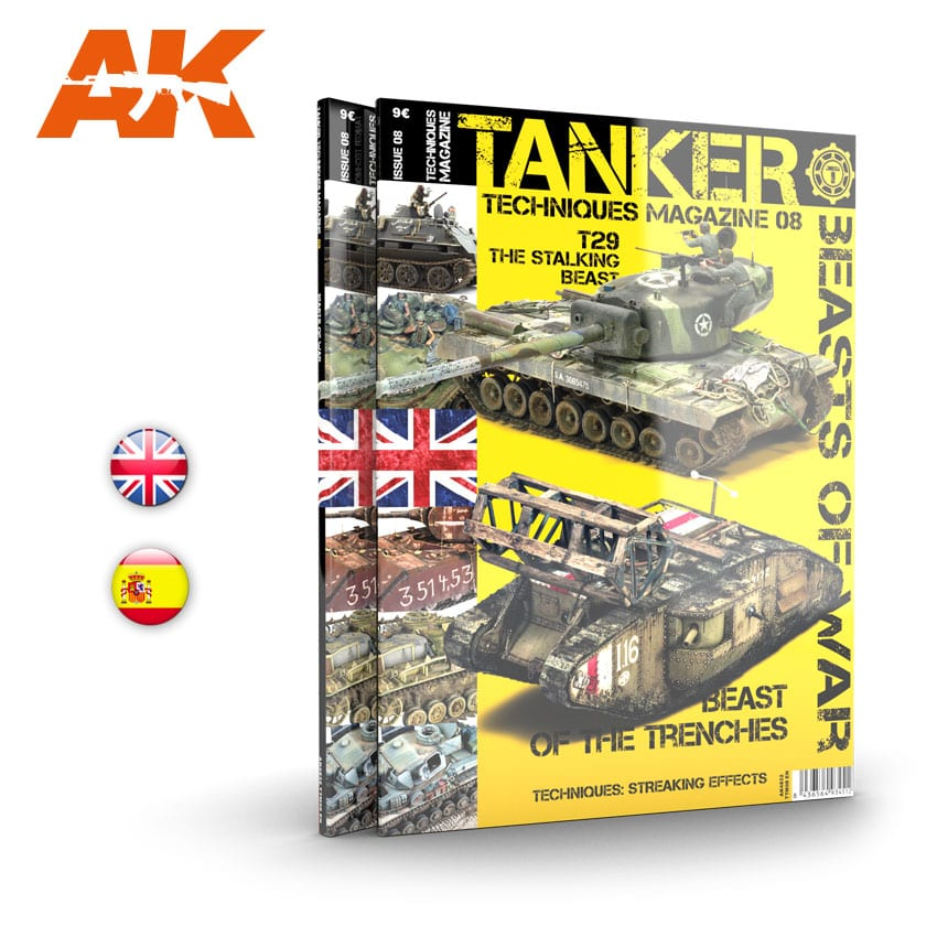 AK Interactive TANKER 08 BEASTS OF WAR - English