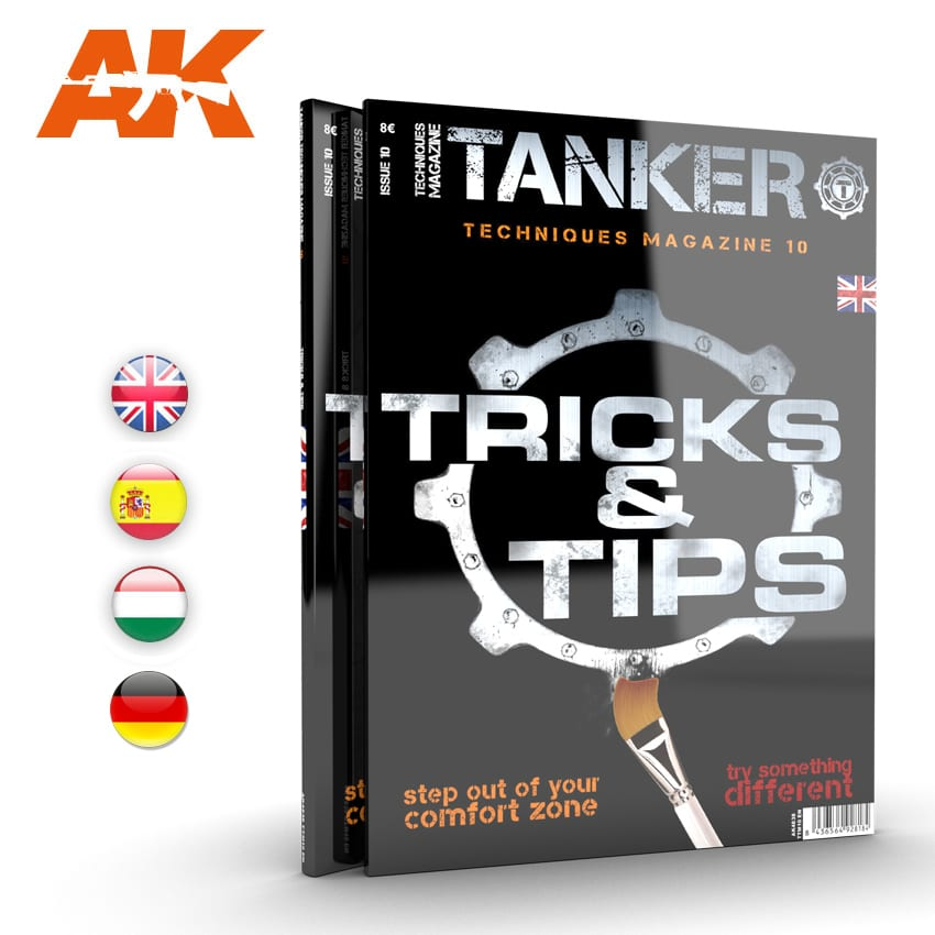 AK Interactive TANKER 10 TRICKS & TIPS (Special Edition) - English