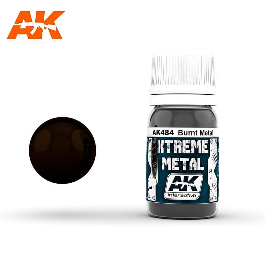 AK Interactive Xtreme Metal Burnt Metal