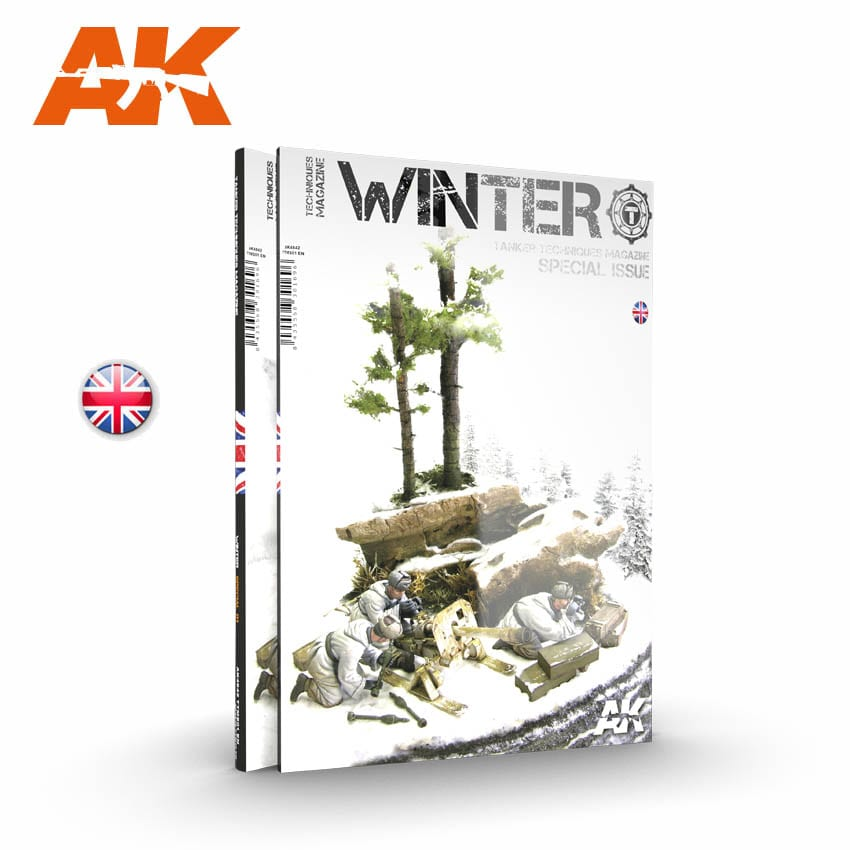AK Interactive TANKER Winter Special 01 - English