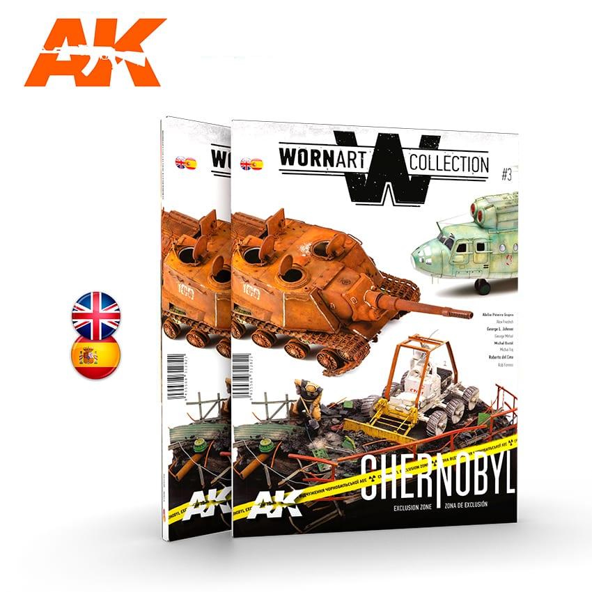 AK Interactive Worn Art Collection #03 Chernobyl - Bilingual