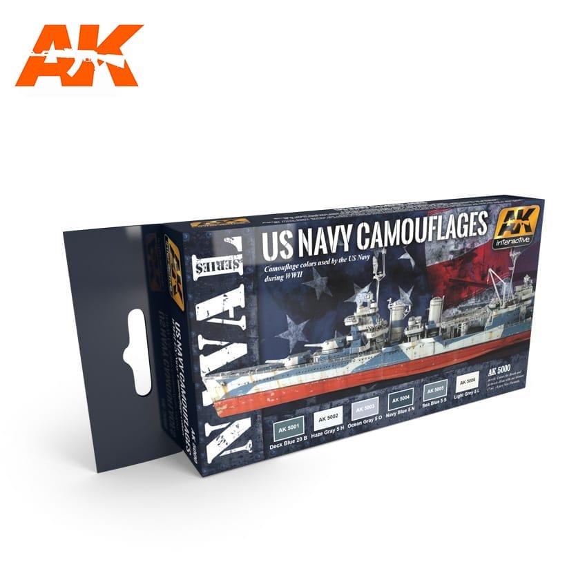AK Interactive US Navy Camouflages