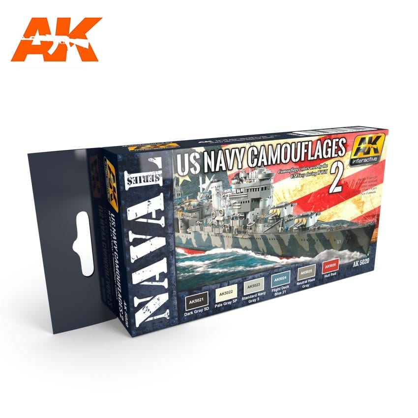 AK Interactive US Navy Camouflage Vol. 2