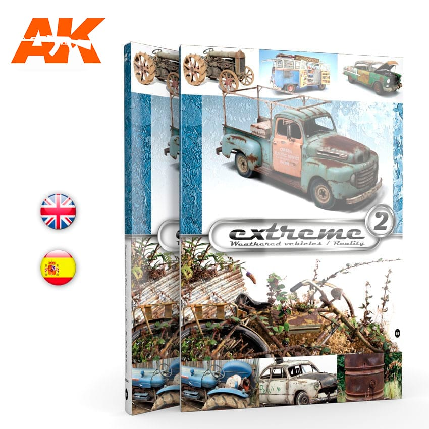 AK Interactive EXTREME2 - Compilation of AK-307 and AK-404 - English