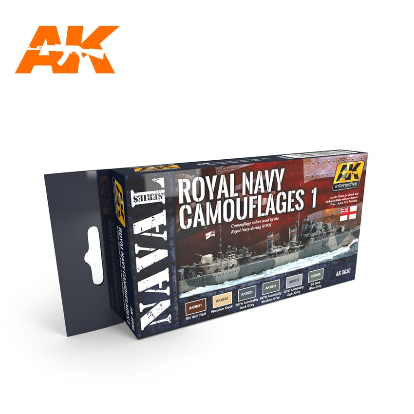 AK Interactive Royal Navy Camouflages 1