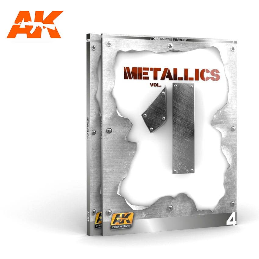 AK Interactive METALLICS VOL 1 (AK LEARNING SERIES N� 4) English