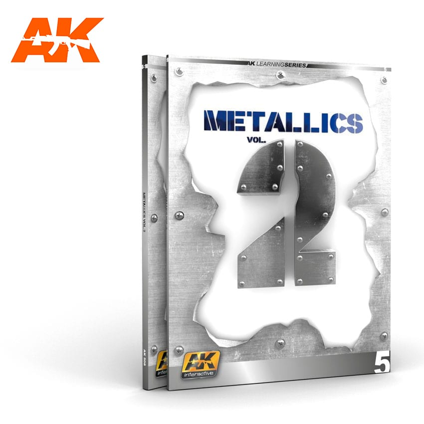 AK Interactive METALLICS VOL 2 (AK LEARNING SERIES N� 5) English