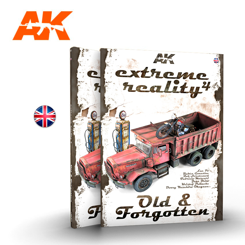 AK Interactive Extreme Reality 4 - Old & Forgotten - English
