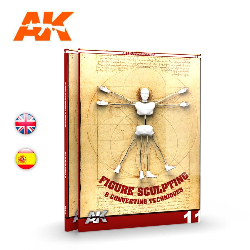 AK Interactive Figure Sculpting (AK Learning Series No 11) English
