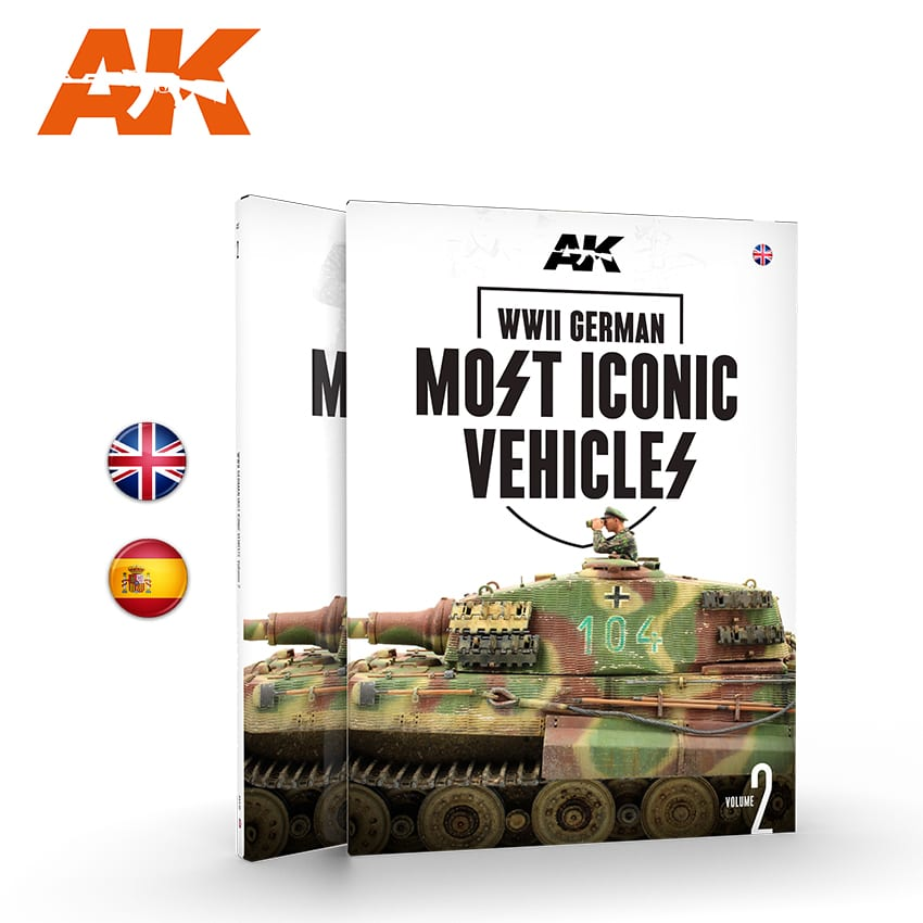 AK Interactive WWII German Most Iconic SS Vehicles Vol.2