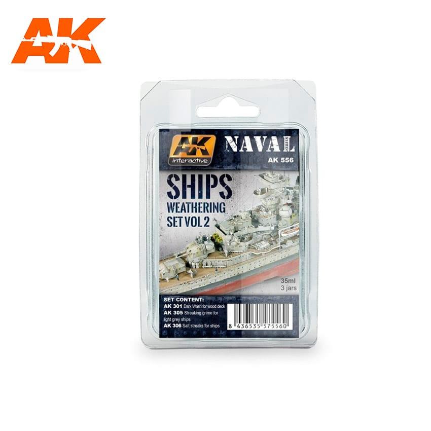 AK Interactive Ships Vol.2 Weathering Set
