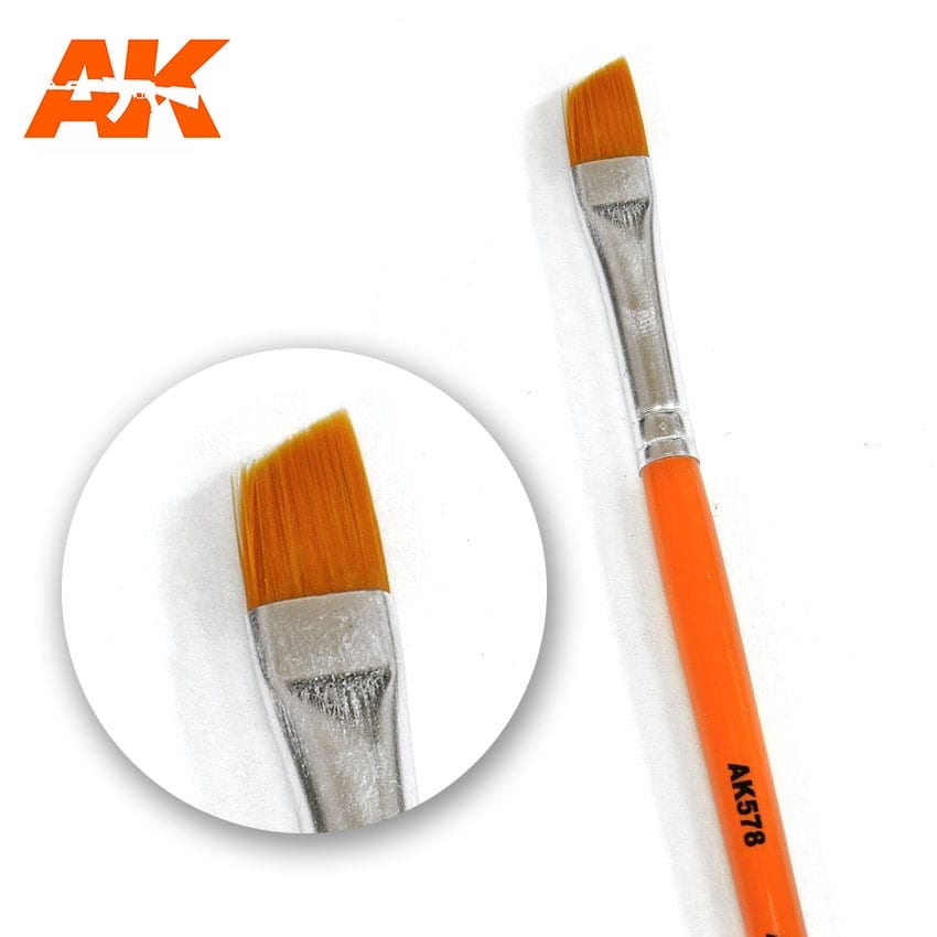 AK Interactive Weathering Brush Diagonal