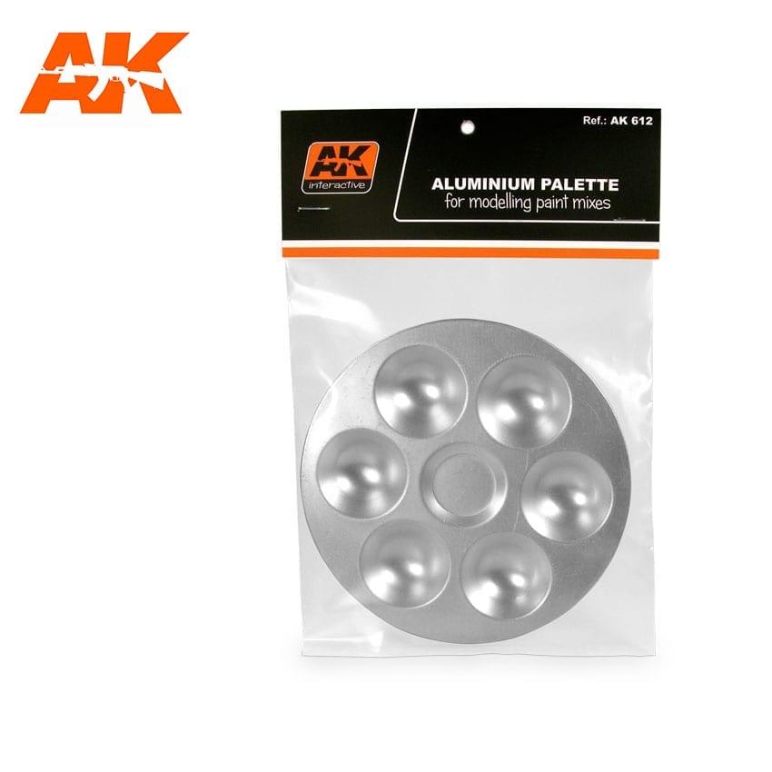 AK Interactive Aluminum Pallet 6 Wells