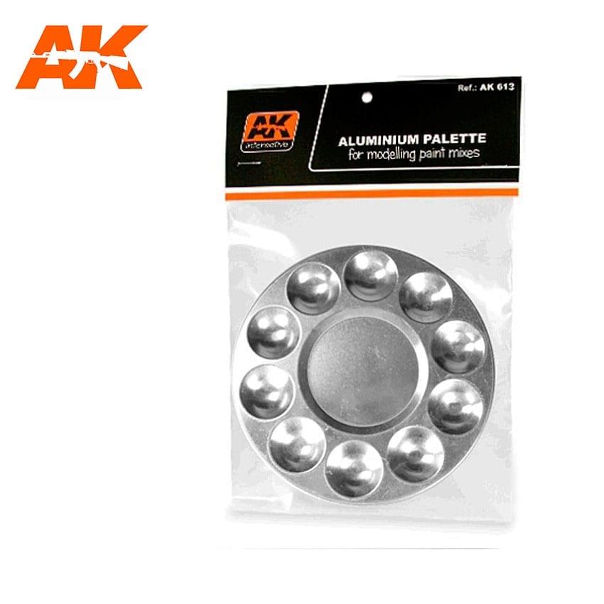 AK Interactive Aluminum Pallet 10 Wells
