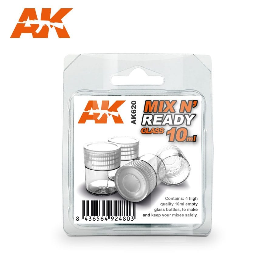 AK Interactive Mix N� Ready Glass 10ml