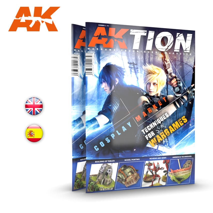 AK Interactive AKTION WARGAME Magazine - Issue 2. English