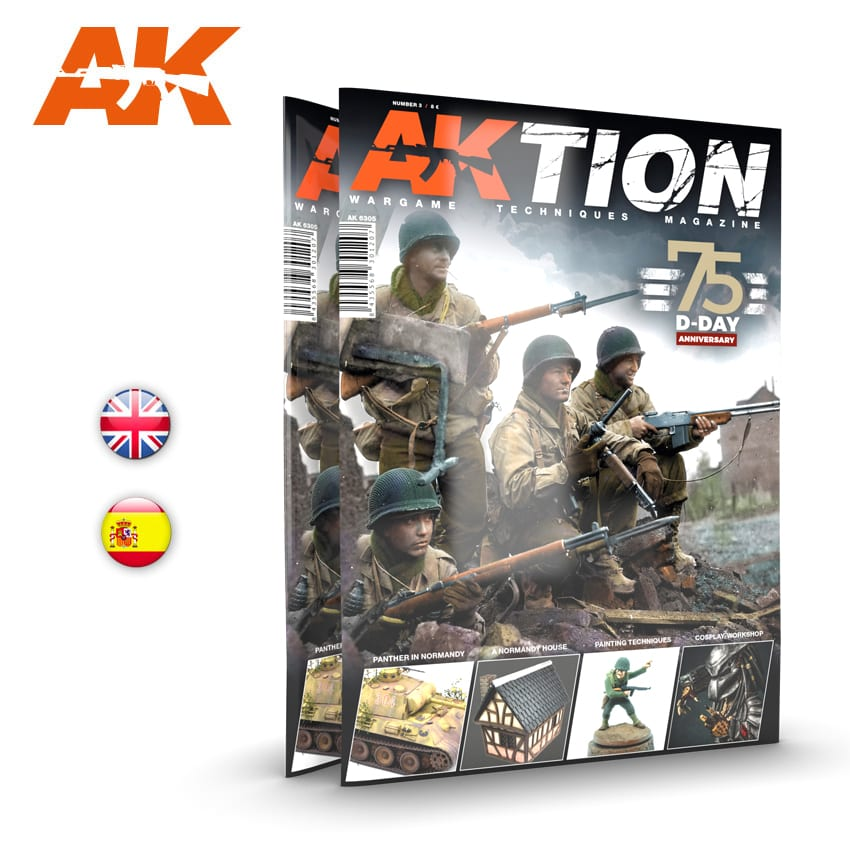 AK Interactive AKTION WARGAME Magazine - Issue 3. English