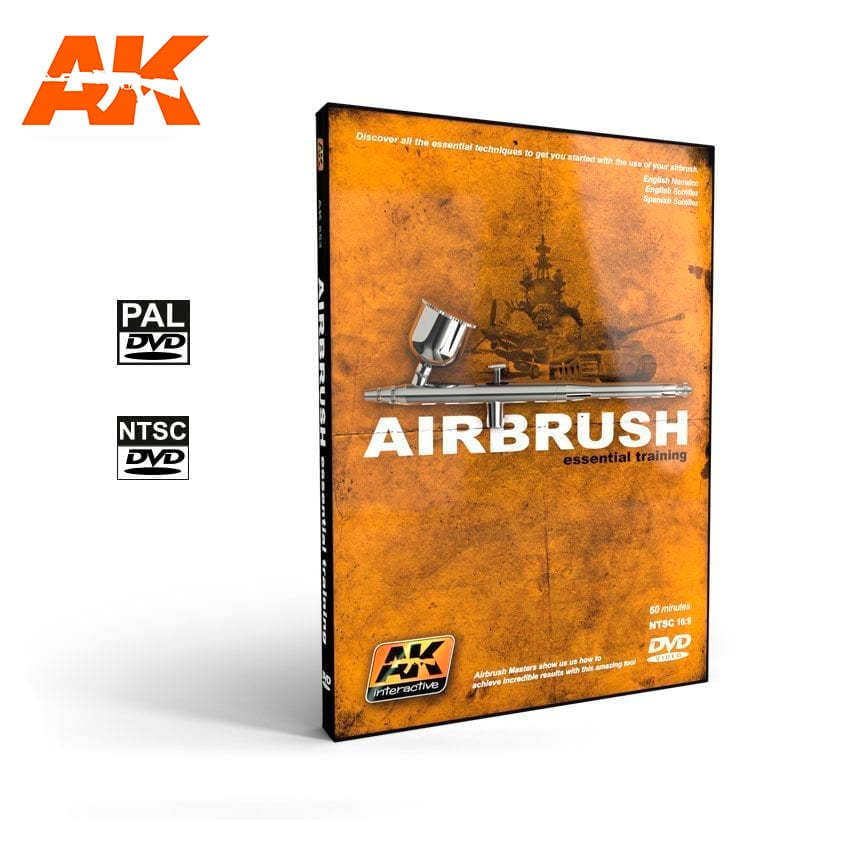 AK Interactive Airbrush Essential Training (DVD)
