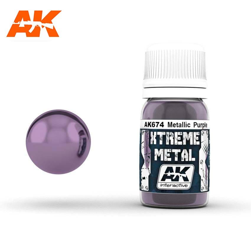 AK Interactive Xtreme Metal Metallic Purple