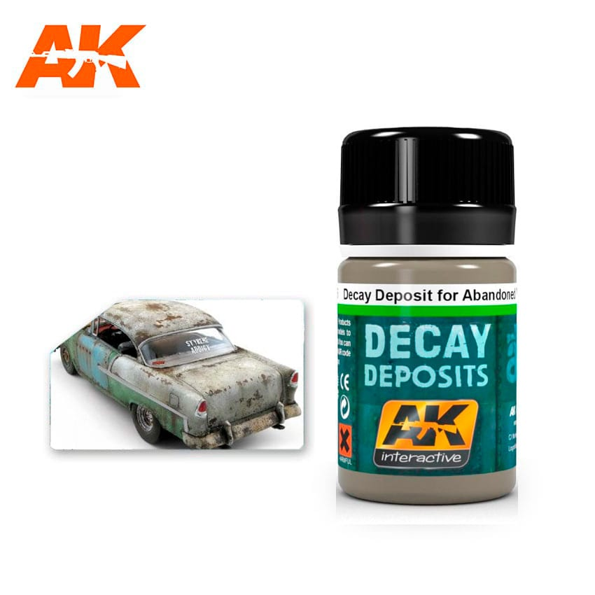 AK Interactive Decay Deposit For Abandoned Vehicles