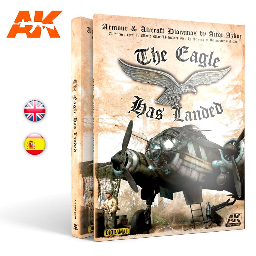 AK Interactive THE EAGLE HAS LANDED - English