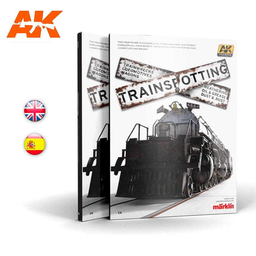 AK Interactive TRAINSPOTTING - English
