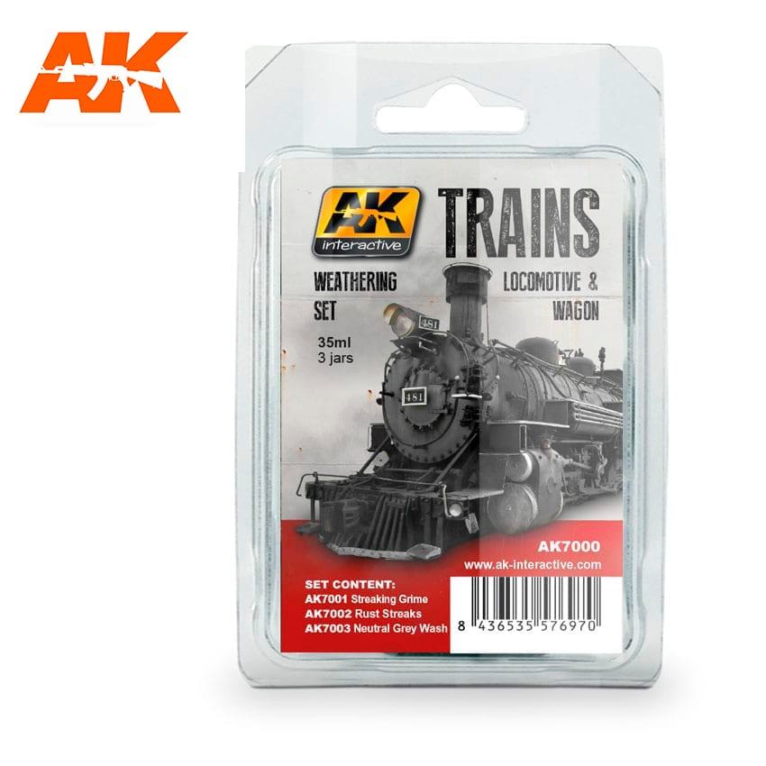 AK Interactive Locomotive & Wagon