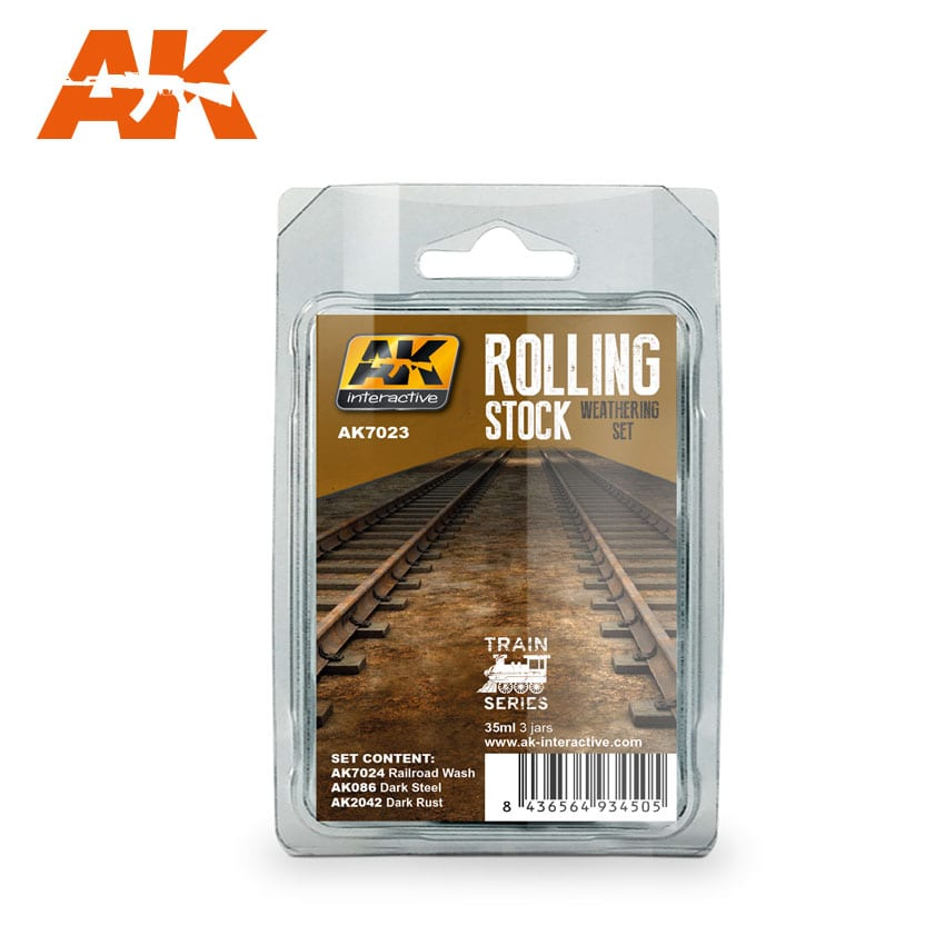 AK Interactive Rolling Stock Weathering Set Train Series