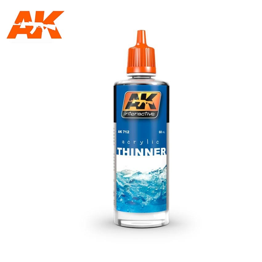 AK Interactive Acrylic Thinner 60 ml