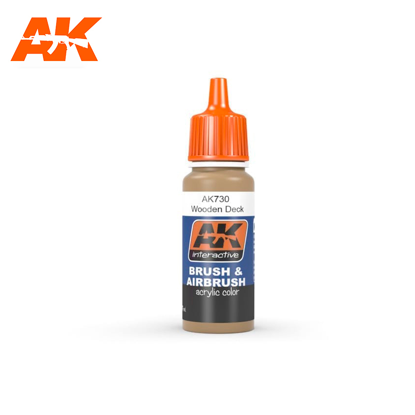 AK Interactive Wooden Deck 17ml