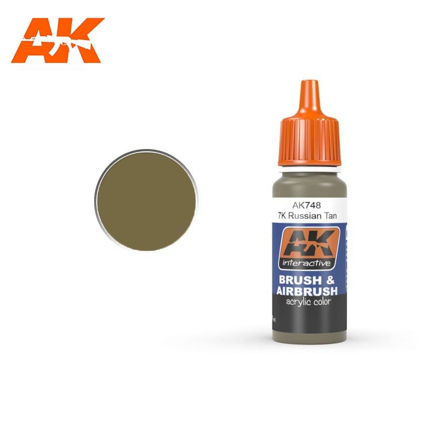 AK Interactive 7K Russian Tan 17ml