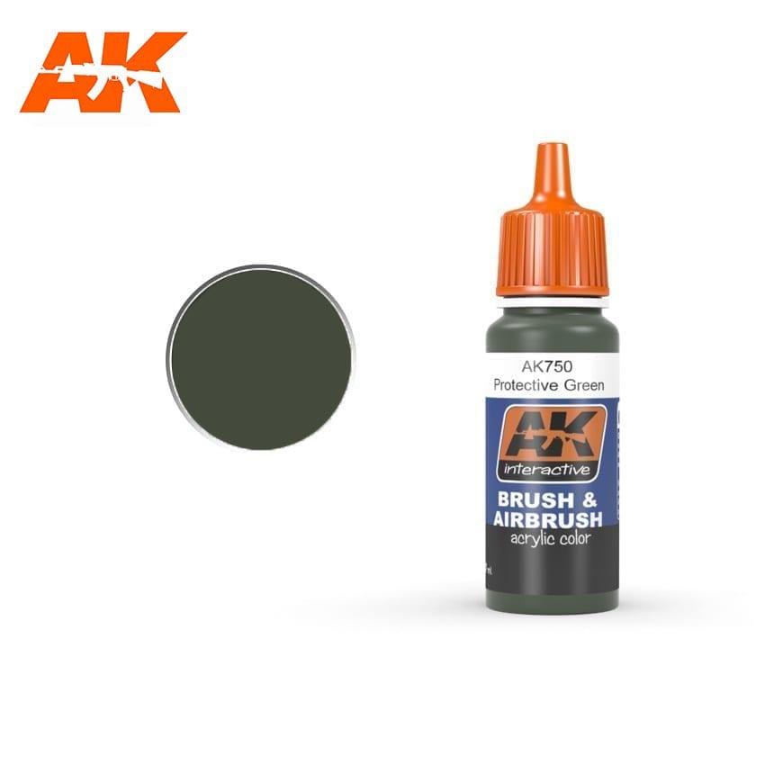 AK Interactive Protective Green 17ml