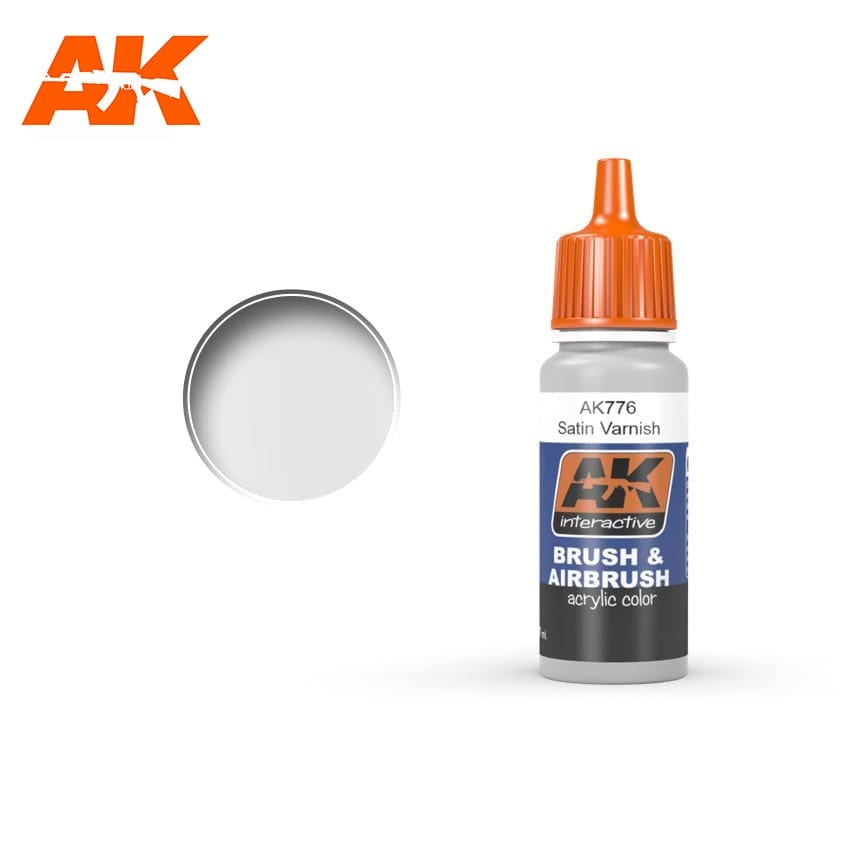 AK Interactive Satin Varnish 17ml
