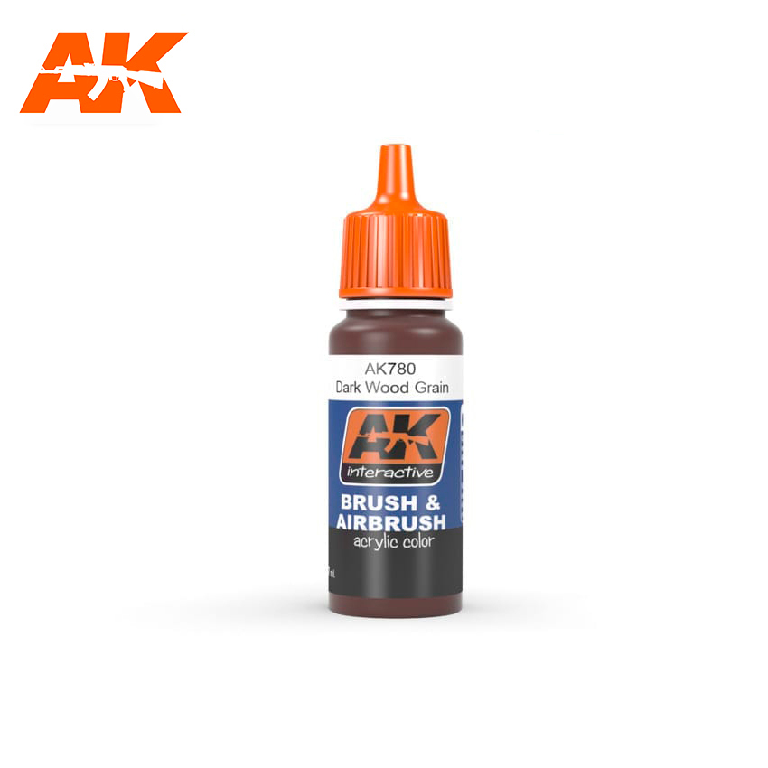 AK Interactive Dark Wood Grain 17ml