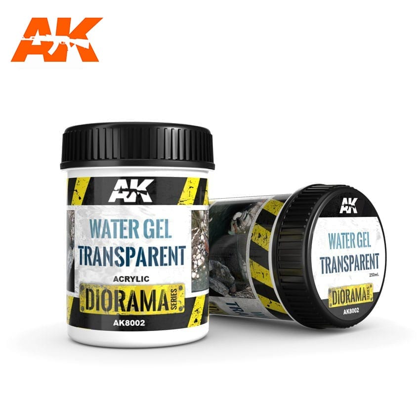 AK Interactive Water Gel Transparent - 250ml (Acrylic)