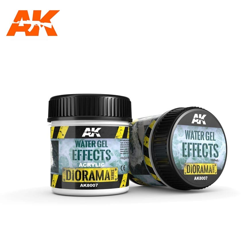 AK Interactive Water Gel Effects - 100ml (Acrylic)