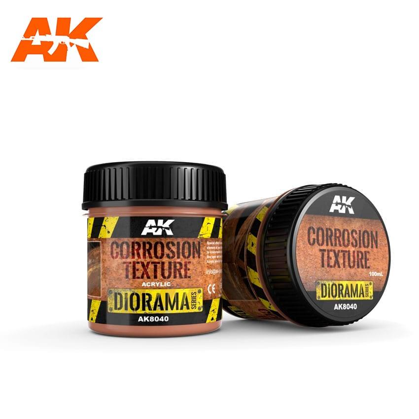 AK Interactive Corrosion Texture - 100ml (Acrylic)
