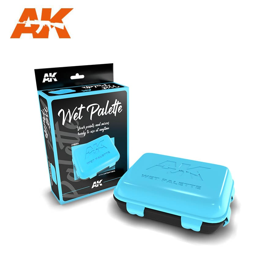AK Interactive Wet Palette