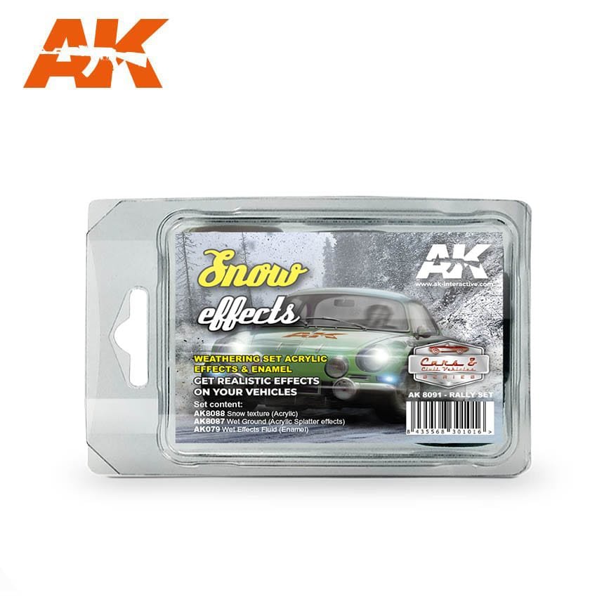 AK Interactive Snow Effects (Rally Set)
