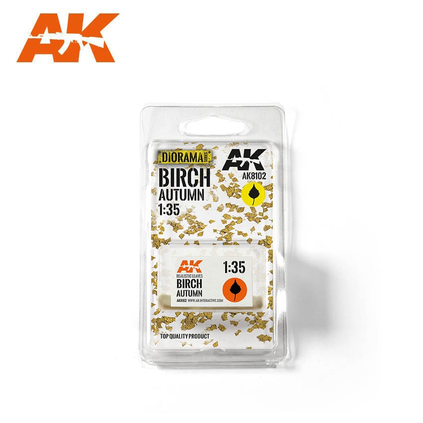 AK Interactive Birch Autumn 1/35