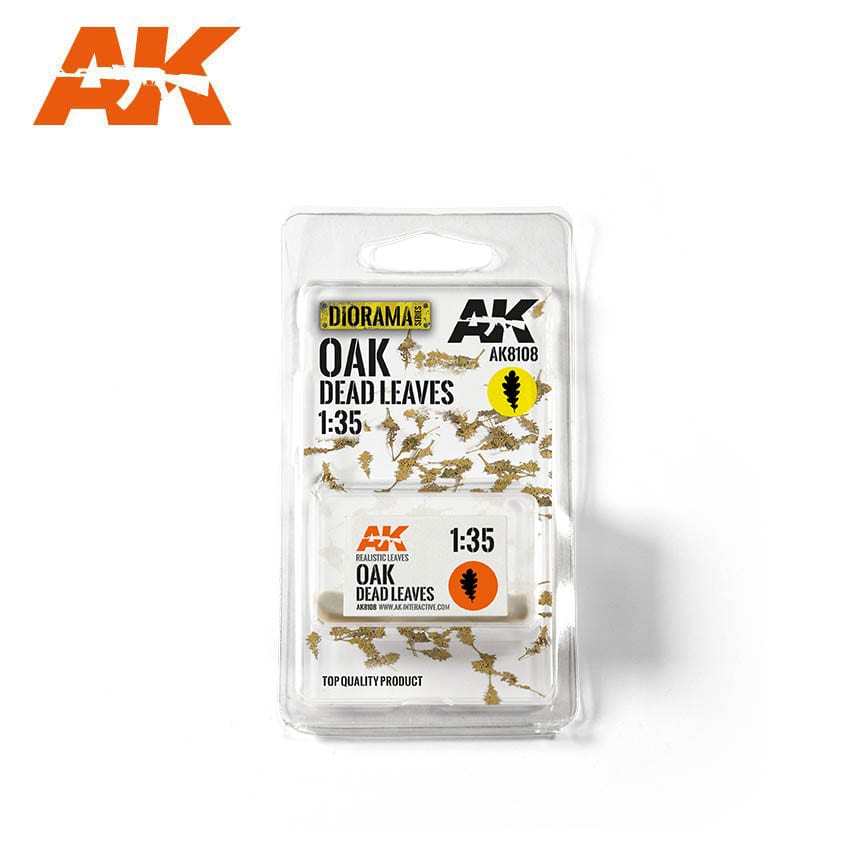 AK Interactive Oak Dead Leaves 1/35
