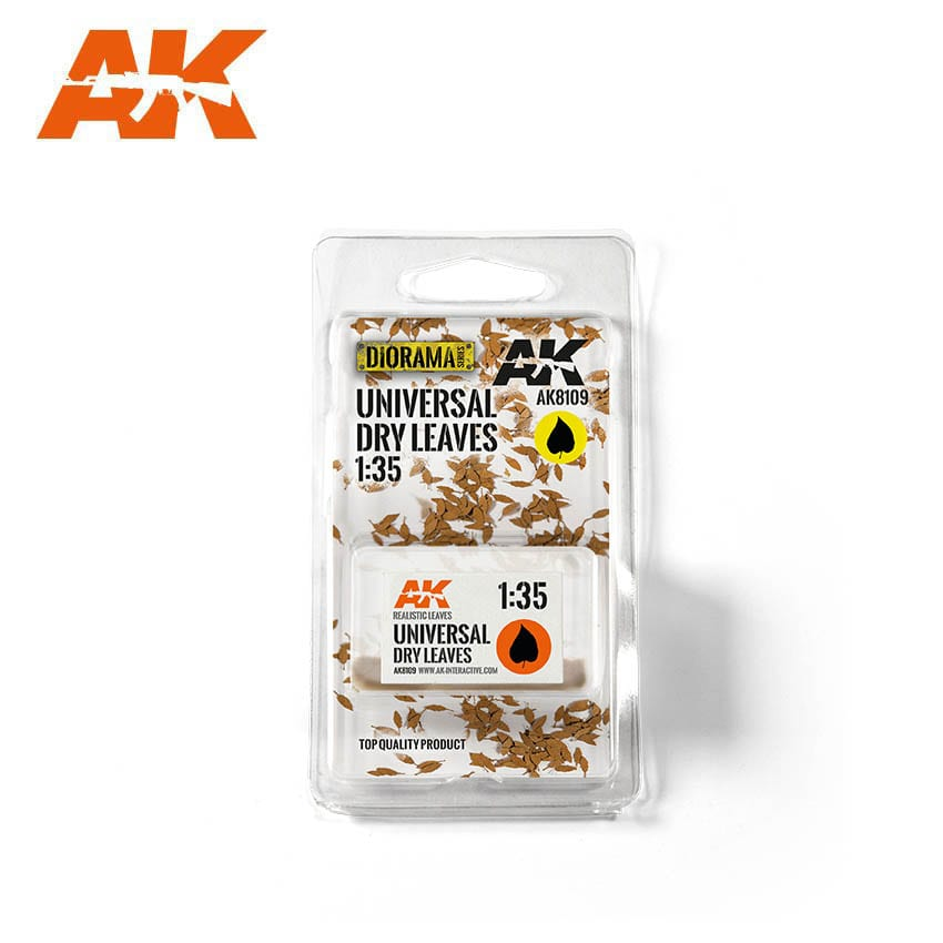 AK Interactive Universal Dry Leaves 1/35
