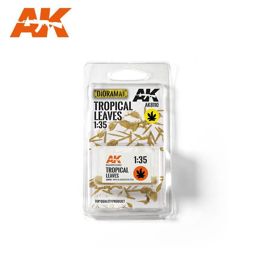 AK Interactive Tropical Leaves 1/35