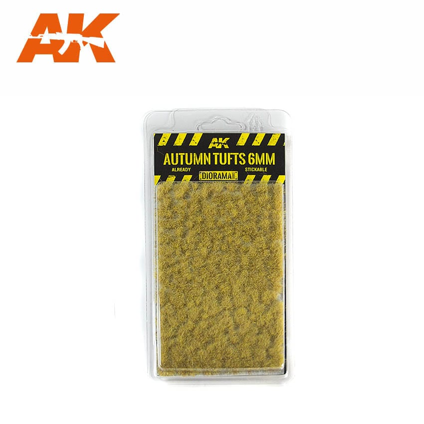 AK Interactive Autumn Tufts 6mm