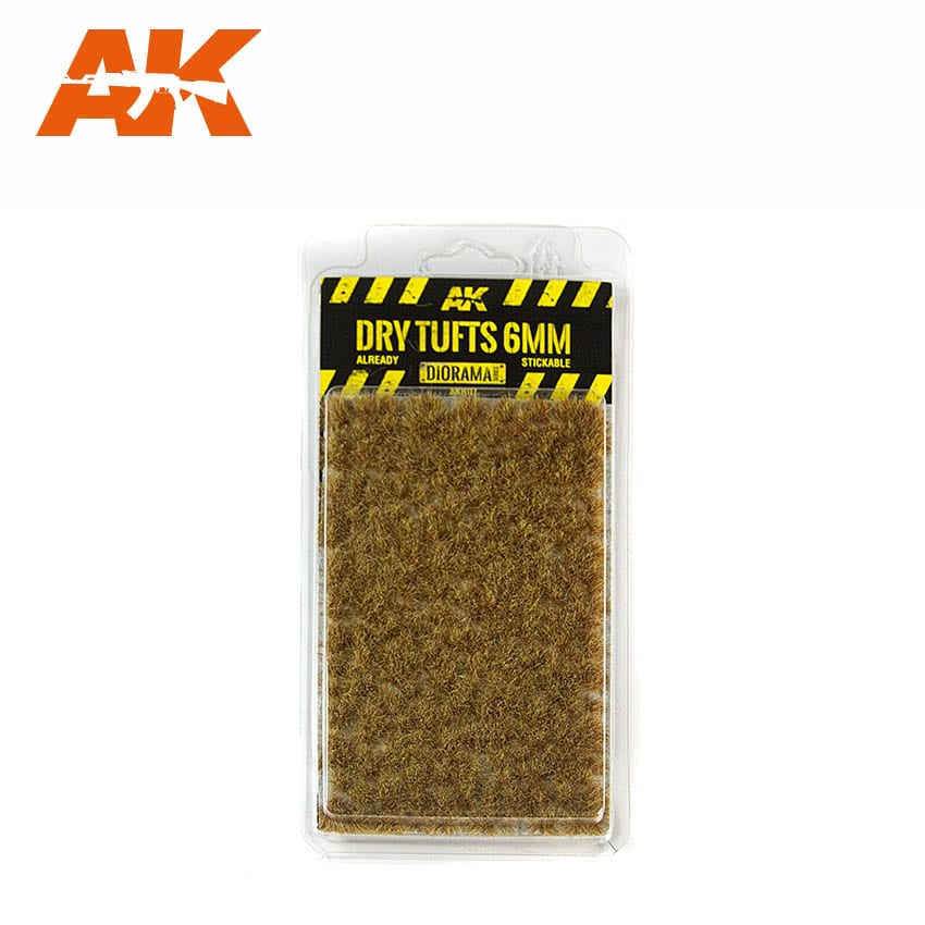 AK Interactive Dry Tufts 6mm