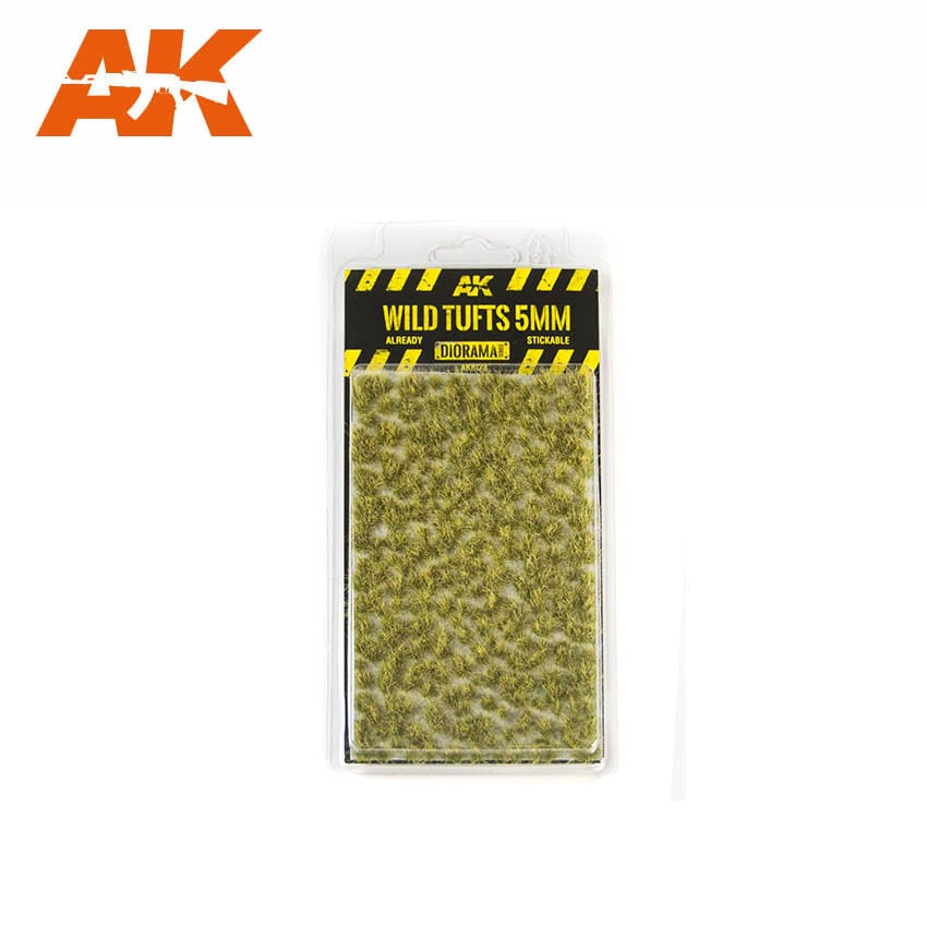 AK Interactive Wild Tufts 5mm