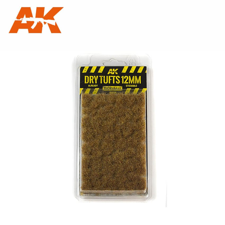AK Interactive Dry Tufts 12mm