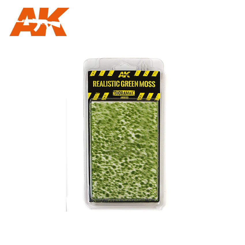 AK Interactive Realistic Green Moss